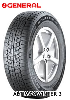 Ziemas riepas GENERAL ALTIMAX WINTER 3 225/50R17